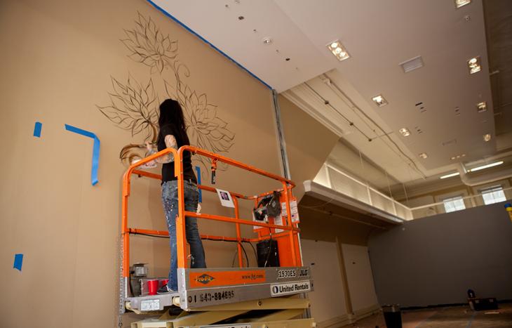 Gaslamp mural 1